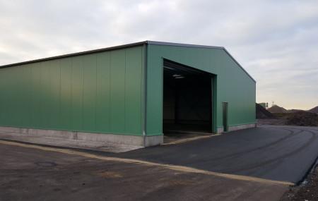 2 nieuwe bedrijfsloodsen – Citratech Dirksland