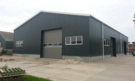 werkplaats bouwen